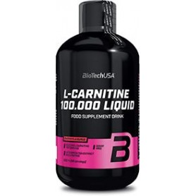 BioTech USA L-Carnitine 100.000 liquid 500ml