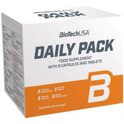 Muttivitamínico BioTechUSA Daily Pack 30 packs