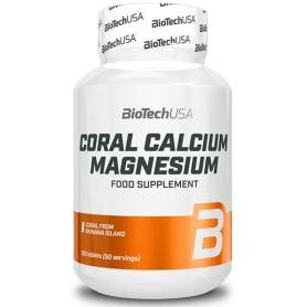 BioTech USA Coral Calcio-Magnesio 100 tabs