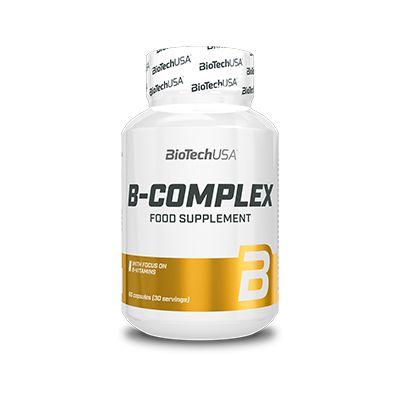 Vitaminas BioTechUSA B-Complex 60 caps