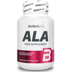 BioTech USA ALA Alpha Lipoic Acid 50 caps