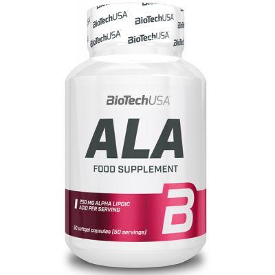 BioTech USA ALA Alpha Lipoic Acid 50 caps