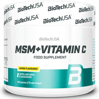 BioTech USA MSM + Vitamina C 1500 150 gr