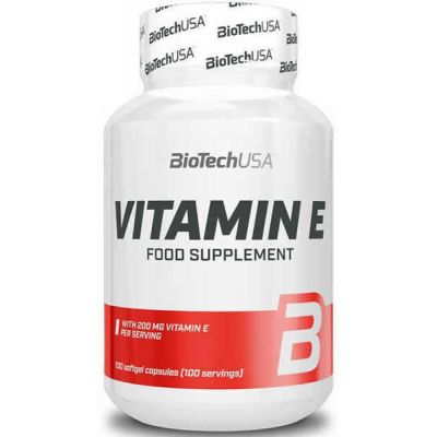 Vitaminas y minerales BioTechUSA Vitamine E 100 caps