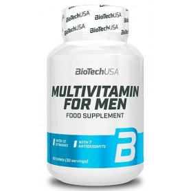 Multivitaminico BioTechUSA Multivitamin for Men 60 tabs