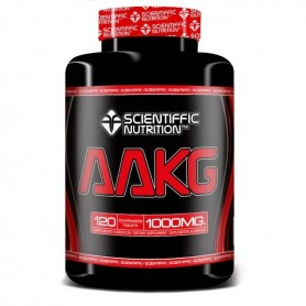 Aminoácidos Scientiffic Nutrition AAKG L-arginina 120 tabletas