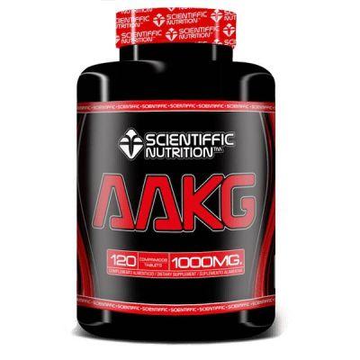 Aminoácidos Scientiffic Nutrition AAKG L-arginina 120 tabletas
