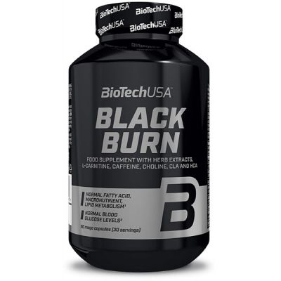 Quemador de Grasa Biotech USA Black Burn 90 caps