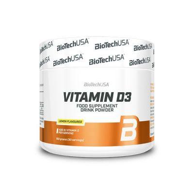 Vitaminas BioTechUSA Vitamin D3 150 gr
