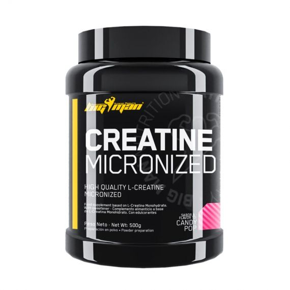 Creatina Monohidrato BigMan Creatine Micronized 500g