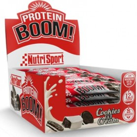 Nutrisport Barritas proteicas Boom Caja 18 unidades