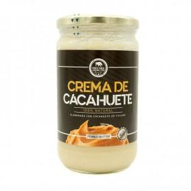 Crema de Cacahuete 100% Natural 500gr.