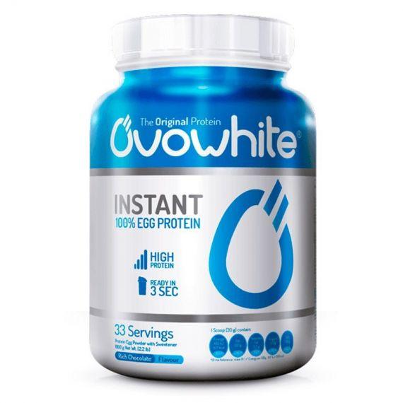 Proteina de Clara de Huevo Sin Lactosa OvoWhite Instant 1000 gr