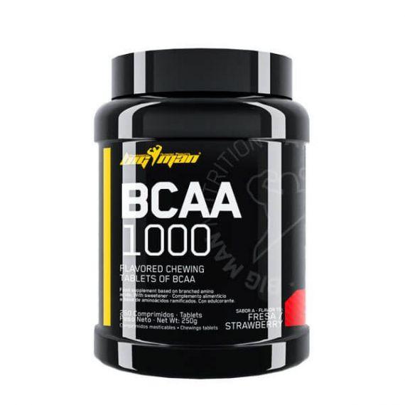 Aminoácidos BigMan BCAA 1000 mg 250 tabs