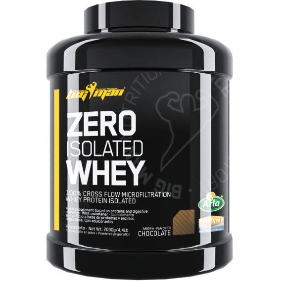 Aislado de Suero BigMan Zero Whey Protein Isolate 2 kg