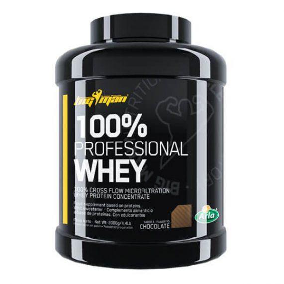 Concentrado de Suero BigMan 100% Professional Whey 2 kg