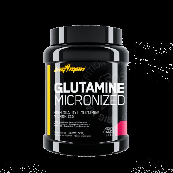 Aminoácidos BigMan Glutamina 500 gr