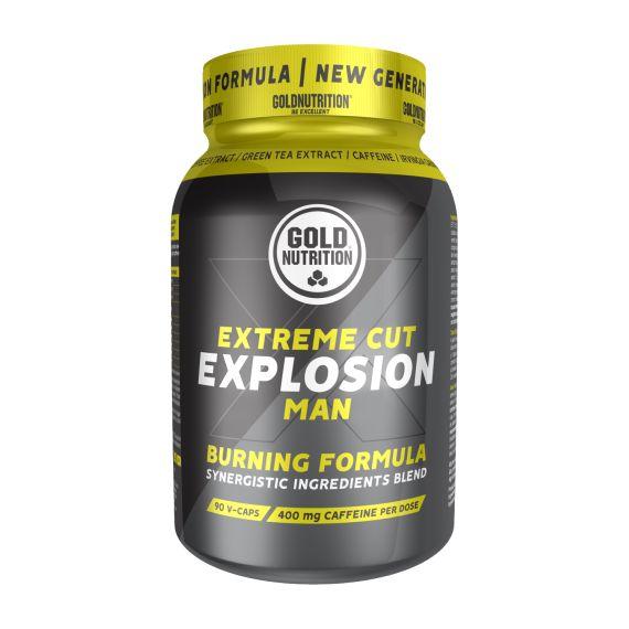 Quemador de grasa Gold Nutrition Extreme Cut Explosion 120 caps