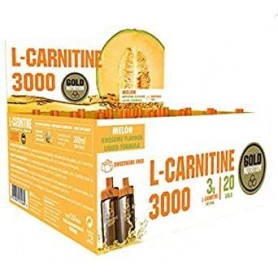 Gold Nutrition L-carnitina 3000 20 Viales