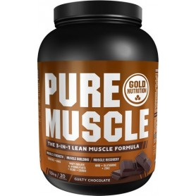 Ganador de Masa Gold Nutrition Pure Muscle 1,5 kg