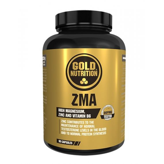 Anabolicos naturales Gold Nutrition ZMA 90 comp