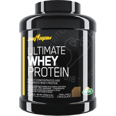Concentrado de suero BigMan Ultimate Whey Protein 2 kg
